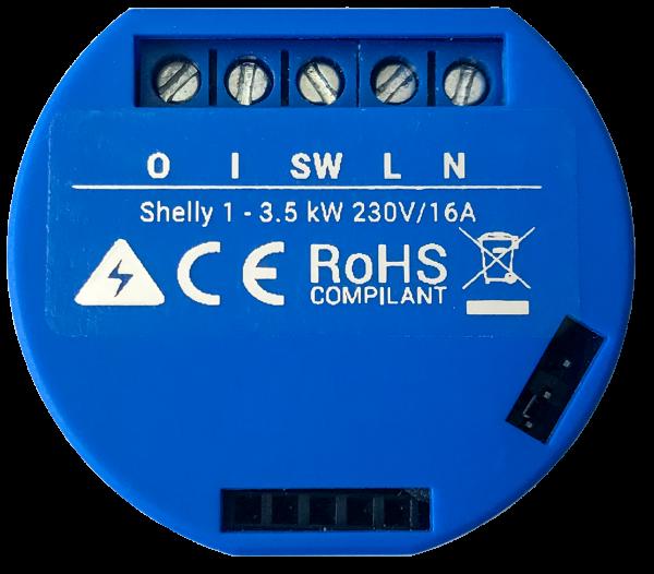 Shelly 1 Open Source WiFi Standard