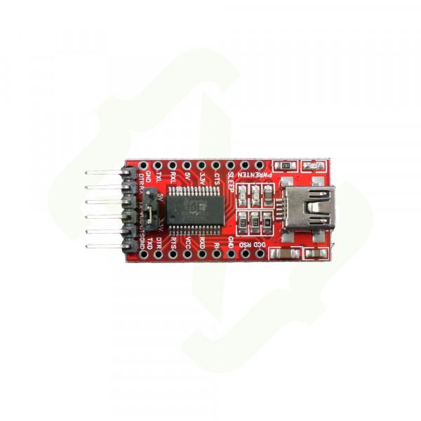 FTDI FT232RL Flash- / Programmiermodul + Zubehör