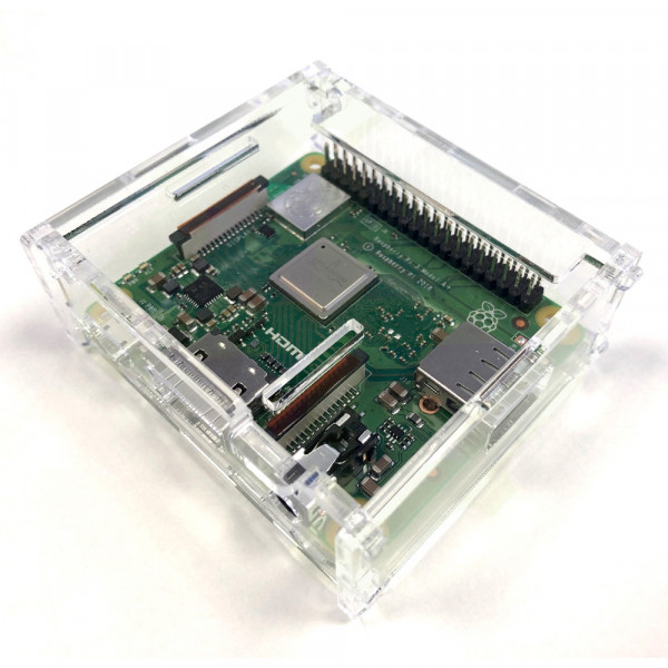 Raspberry Pi A+ Acryl Gehäuse Transparent