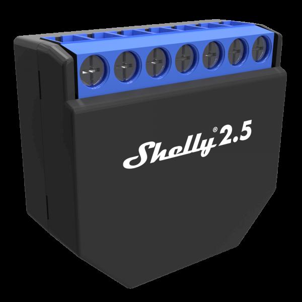 Shelly 2.5 WiFi Switch / Roller Shutter