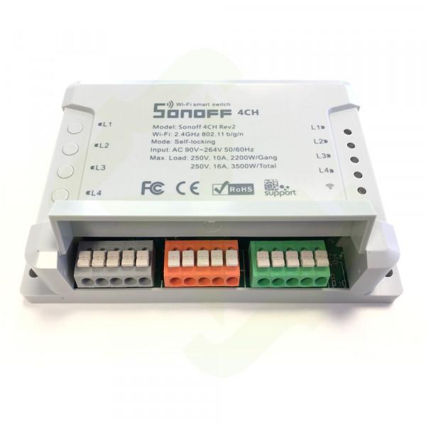 Sonoff 4CH R2 WiFi Tasmota